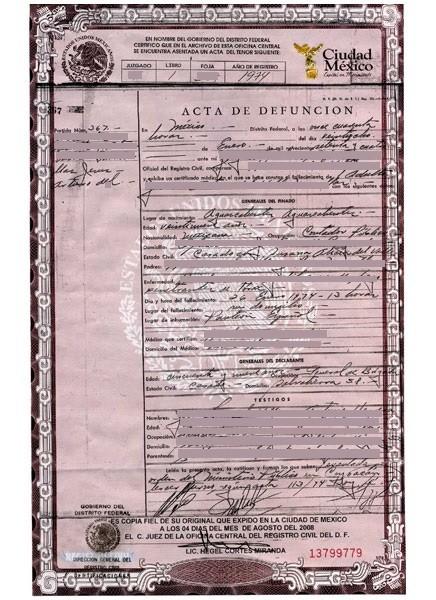 AD1974-Acta de defuncion 1974