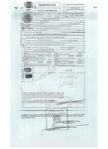 AM2001-Acta de matrimonio 2001