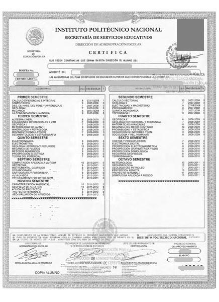 IPNC2012- Certificado lic IPN