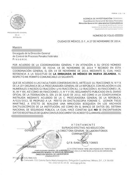NAP2014-Carta No Antecedentes